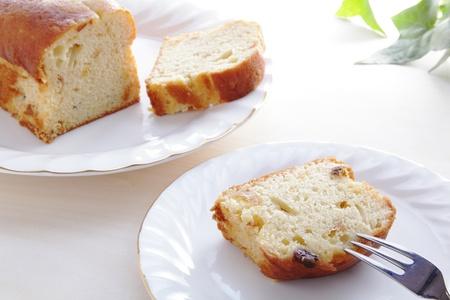 pound cake: Slices of pound cake  Stock Photo