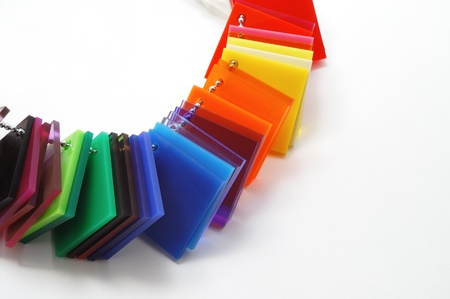 acrylic: Color swatches