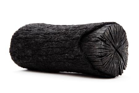 carbone: carbone di legno Archivio Fotografico