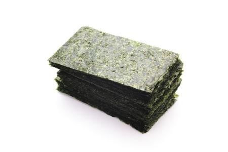iodine: Sheets of dried nori