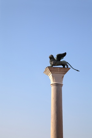 the merchant of venice: Winged Lion and blue sky