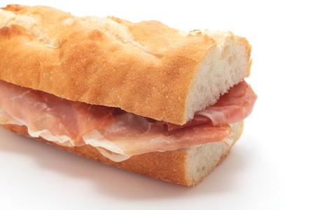 panino: Sandwich de jam�n curado