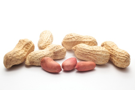 unbroken: Peanuts Stock Photo