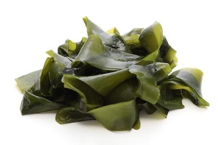 Wakame, soft seaweed Stock Photo