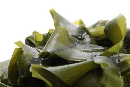 Wakame, soft seaweed Banco de Imagens
