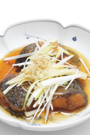 saba: Saba nanbanzuke, marinated deep-fried mackerel
