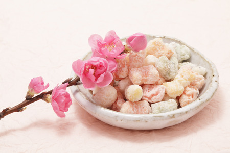 confectionery: Hina arare, sweet rice cracker for Dolls  festival