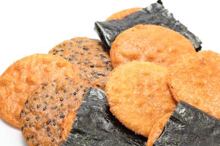 센베이, 일본 쌀 크래커 스톡 콘텐츠