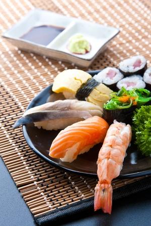 Los alimentos de Japón Foto de archivo - 15449077