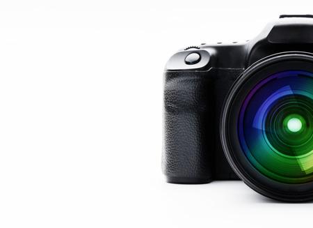 Digital camera with lens fix