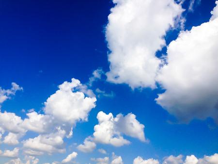 Clound in blue sky Stock Photo