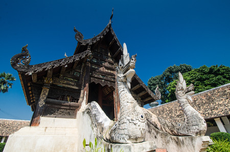 Wat Ton Gwan major tourist attraction, Chiangmai, Thailand. This is a Buddhist temple, it is one of Chiangmai\