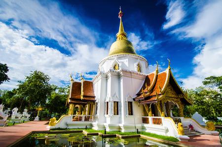 Wat Pa Dara Pi-rom. Chiang Mai Thailand