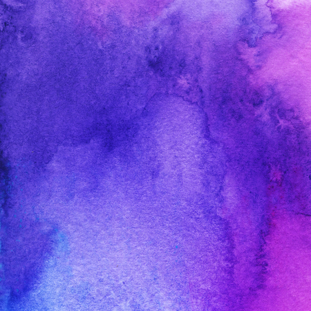 trendy watercolor background, pink, navy blue and purple. Great design element for brochure, banner, cover, booklet, UI, UX, flyer, card, poster and others Stock Photo