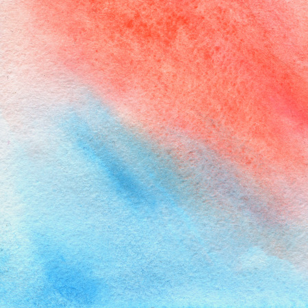 living coral, pink and blue colors, trendy watercolor background. Great design element for brochure, banner, cover, booklet, UI, UX, flyer, card, poster and others