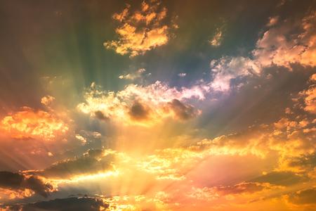 grimy: grimy color light in sky