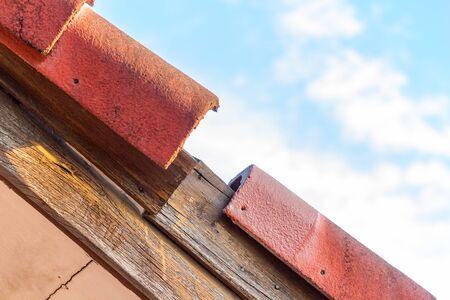 Roof tile Damage Waiting for repair