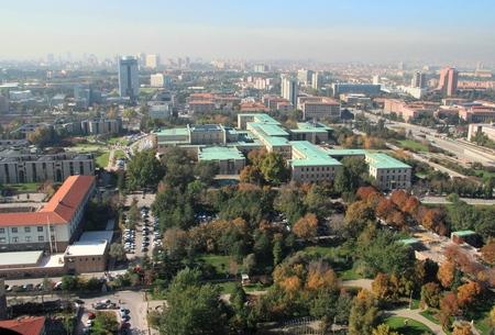 trees photography: Ankara, Turkey, the Grand National Assembly Editorial