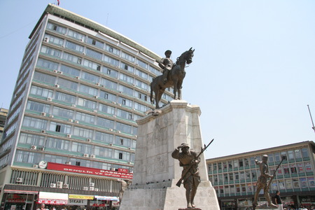 ataturk: Ankara, Ataturk Sculpture Editorial