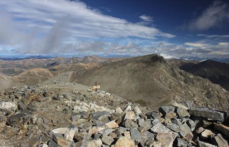 grays: Torreys Peak from Grays Peak