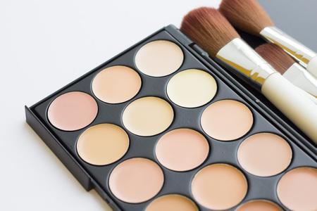 Face foundation palette