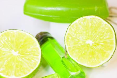 Lime oil skin concept