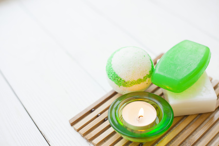 Aromatherapy green concept