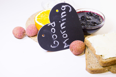 Delicious breakfast concept