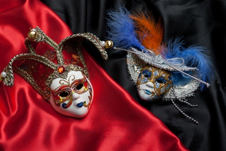 Theater masks photo