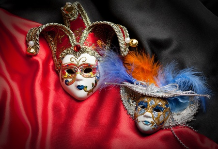 puppet theatre: Theater masks