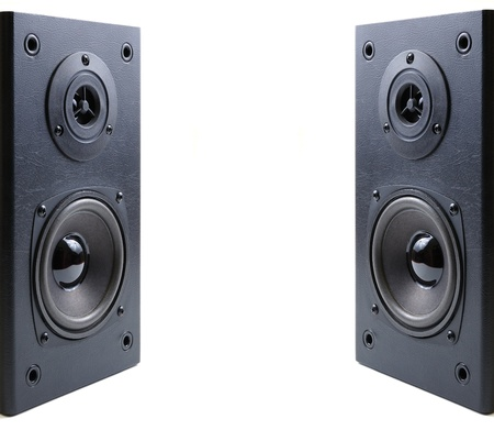 stereo subwoofer: sound_style(16).jpg Stock Photo