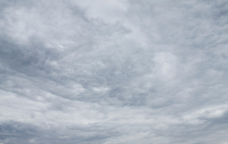 Stormy sky dark as natural background photo