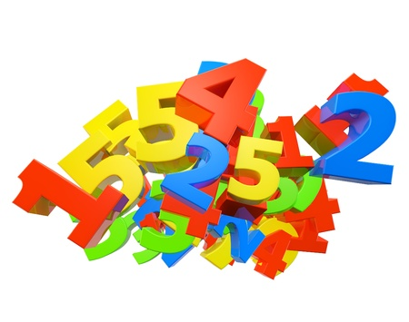 Number colour Stock Photo - 13975312