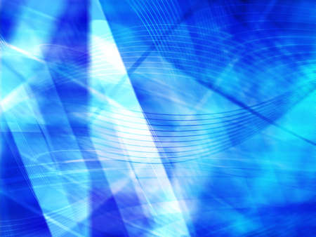 technology abstract background: Background blur abstract blue technology Stock Photo