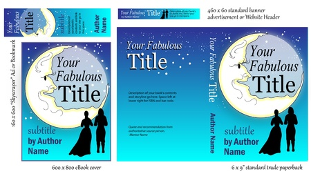 Eye-catching Book Cover Design  Vector