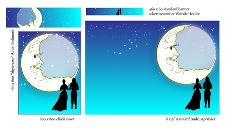 soul mate: Romance Book COVER Design BLANK