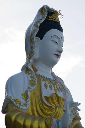 Guan Yin Bodhisattva Stock Photo