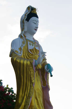 bodhisattva: Guan Yin Bodhisattva Stock Photo