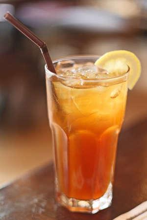 bebidas frias: T� de lim�n y las bebidas fr�as