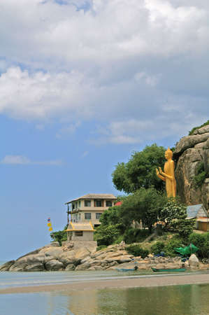 philanthropy: Buddha, boats, mountains and sky happy to visit with family and philanthropy