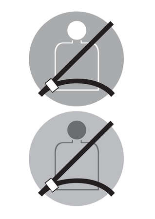 seatbelt: seat belt Wear safety protection when driving