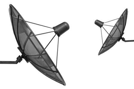 ver television: Antena parab�lica para ver televisi�n y el f�tbol de noticias