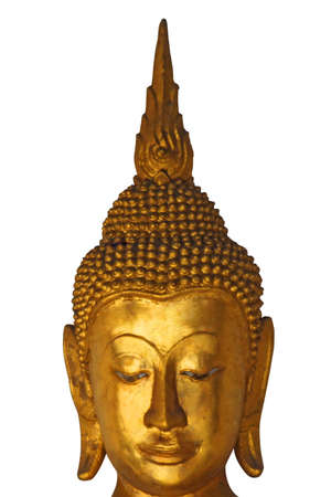 divinity: Buddha is the Buddhist divinity that respect  Stock Photo