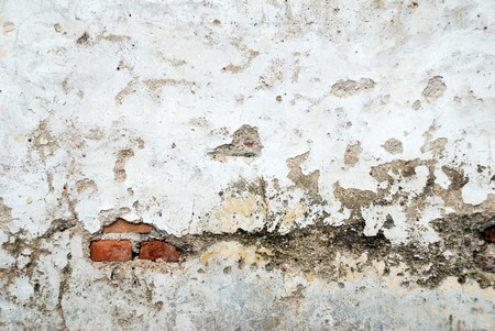 Old walls, in architectural details photo