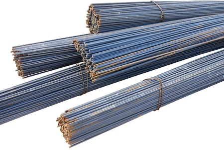 steel wire: The steel bars used in construction