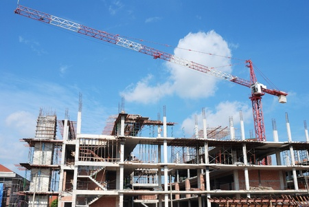 site: construction  site is not finished.