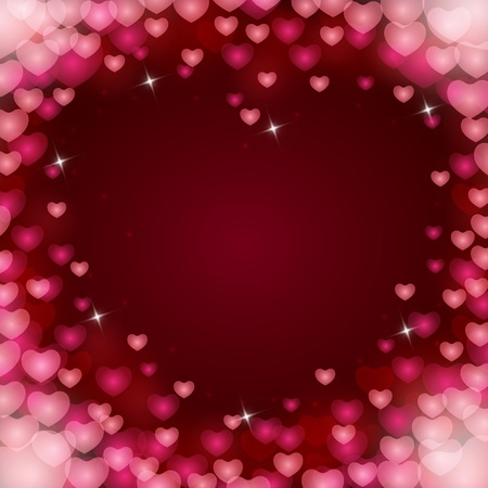 love couples: Abstract background to the Valentines day