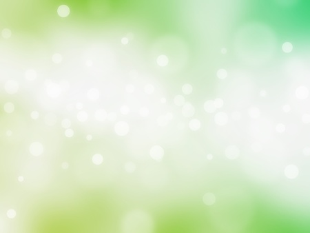 fairytale background: green bokeh abstract light background