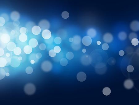 Blau Bokeh abstrakte hellen Hintergrund Standard-Bild - 23653106