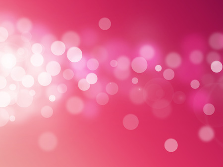 fairytale background: red bokeh abstract light backgrounds Stock Photo